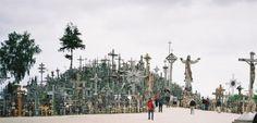 CORUJA INDELICADA : A COLINA DAS CRUZES, NA LITUÂNIA   A cidade foi fu...