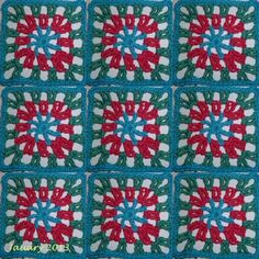 The 8th Gem: Week 1 Granny square options
