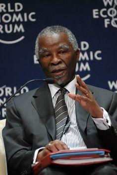 Thabo Mbeki, former President of South Africa, a model African leader.