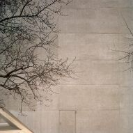 Rory Gardiner took these images of Christ & Gantenbein's angular extension to the National Museum Zurich when it was bathed in late winter sunlight