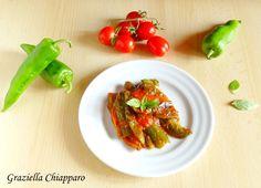 Contorno+di+friggitelli+al+pomodoro