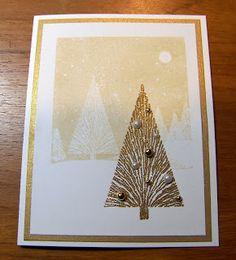 Hero Arts Many Branches Tree card