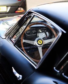 So beautiful...  #ferrari #vintagecar #exotic #beauty #vintage #carporn #italy #retro #luxury #gentleman #class #classy #collection #rare #fashion #magazine #glamour : @danielzizka