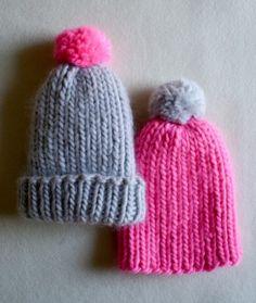 Super Simple Super Soft Merino Baby Hat