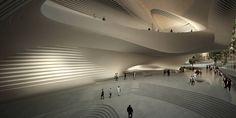 King Abdullah II House of Culture & Art - Architecture - Zaha Hadid Architects