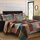 Found it at Wayfair - New Bohemian Quilt Collection