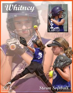 Whitney Youth Softball Poster