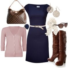 Smart casual outfit, I would wear other shoes with that dress ;)