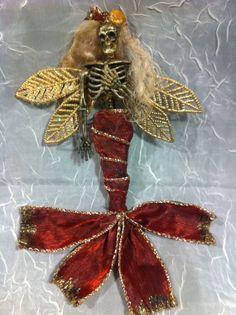 Skeleton mermaid fairy nightmare before by footstepsinthewind, $12.99