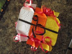 Candy Wrapper Diecut with Spider Embossing Folder