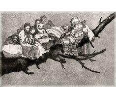 """Francisco de Goya  """" En lo mas alto """""""