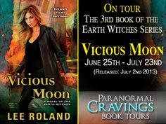 Vicious Moon by Lee Roland's Tour and giveaway. Ends July 23rd 2013. http://wormyhole.blogspot.com/2013/07/blog-tour-vicious-moon-by-lee-roland.html?utm_source=feedburner_medium=email_campaign=Feed%3A+blogspot%2FkoBxn+%28The+Wormhole%29