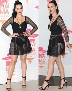 Living Vintage Doll: Katy Perry in Demure Zac Posen Dress - Katy Perry Looks Like a Living Vintage Doll in Her Zac Posen Dress - Katy Perry Legs, Katy Perry Hot, Katy Perry Pictures, Actrices Hollywood, Beautiful Celebrities, Celebrities Fashion, Zac Posen, Sexy Legs, Sexy Women