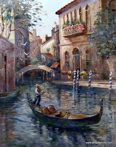 Lew Gordon Venetian Colors