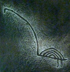 Prehistoric petroglyph from the Lake Onega area of Russia