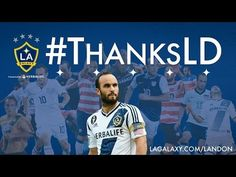 Landon Donovan ended his soccer-playing career in style on Sunday afternoon when he and the LA Galaxy won the 2014 MLS Cup at the expense. Landon Donovan, Mls Cup, Believe, Professional Soccer, Career, Baseball Cards, Sports, News, Style