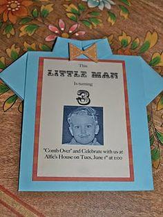 Invite for my my future little boy....