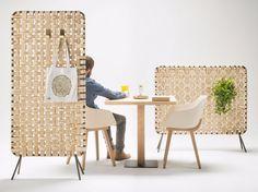 Wooden room divider ZUMITZ by ALKI design Iratzoki Lizaso
