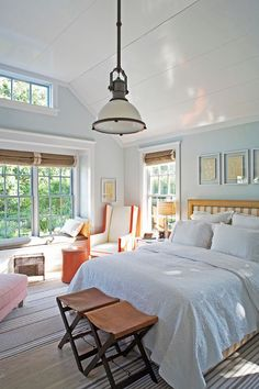 Turquoise Bedroom Interior Design - Turquoise can also be just an accent color and used in combination with other shades