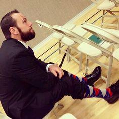 Shay and his socks!