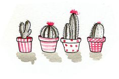 draw, cactus, and illustration image Illustration Tumblr, Sketches, Sketch Book, Illustration, Drawings, Doodle Art, Drawing Illustrations, Cactus Illustration, Art