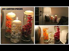 DIY Vase Centerpieces - Laxmi Jakkal - Easy Affordable options - YouTube