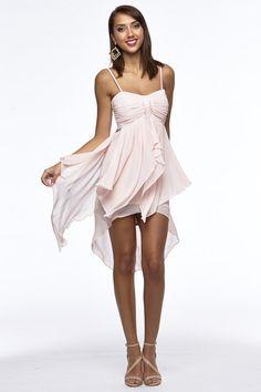 Hi Low Chiffon Party Dress - Petal by Blockout