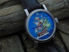 Santa Maria enamel dial watch. Leszek Kralka.