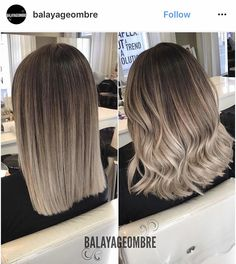 Ombre Love it. Balayage Ombré is everything! June can& come fast enough Alpingo Balayage , Love it. Balayage Ombré is everything! June can& come fast enough Love it. Balayage Ombré is everything! June can& come fast enough . Medium Hair Styles, Short Hair Styles, Ombre Hair Styles, Short Hair Colors, Bob Styles, Hair Color 2017, Hair Color Balayage, Balayage Short Hair, Ash Balayage