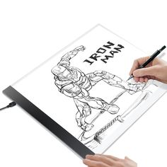Tracing Light Box Tracer Portable Artists Drawing Board Copyboard USB Power Cable Artcraft Tracing Light Pad for Sketching Animation Designing Stenciling X-ray Viewing