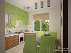 Яркий минимализм, Дизайн-студия Emotion, Кухня, Дизайн интерьеров Formo.ua