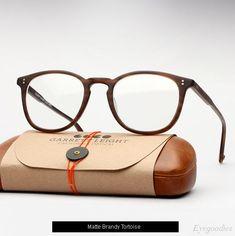 f74972dd0cb Garrett Leight Kinney eyeglasses - Matte Brandy Tortoise Italian Mens  Fashion