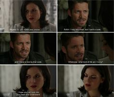 Once Upon A Time. Regina and Robin Hood.