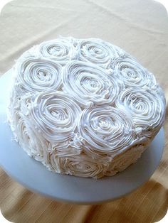 great idea for cake for grandma or mom. Very sweet and pretty.