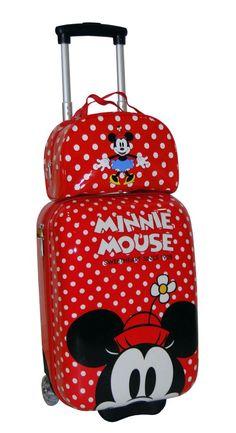 maletas de viaje disney - Buscar con Google Mickey Mouse And Friends, Mickey Minnie Mouse, Disney Mickey, Disney Cups, Disney Time, Disney Shirts For Family, Disney Family, Mickey Love, Cute Bags