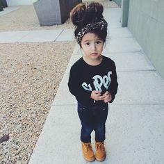 Toddler girl fall outfit @KortenStEiN