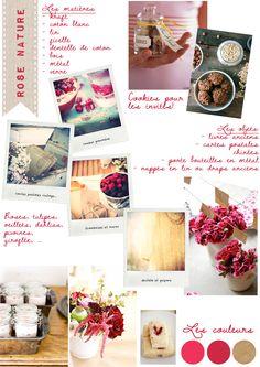 Carnet d'inspiration {rose nature} par #lamarieeauxpiedsnus    Crédits photos: Canelle et Vanille / Sunday Suppers / Project wedding / Martha Stewart / Tumblr / Secret Garden Cottage /Strawberriesnchampagne / Gingerlilytea