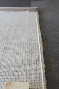 How to - Slip Proof Rug