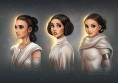 Star Wars: Generations by daekazu.deviantart.com on @DeviantArt