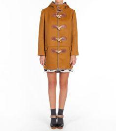 short duffle coat green | Happy things | Pinterest | Duffle coat ...
