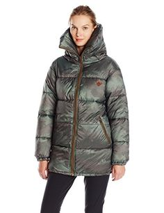Burton Womens Logan Jacket Large Oil Camo *** Click image for more details. This is an Amazon Affiliate links.