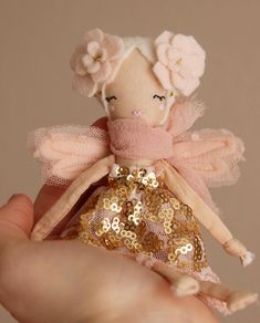 Handmade Doll - photo by @libertylavenderdolls • 354 likes