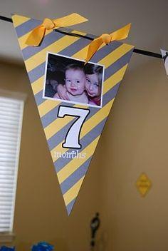 Boy 1st birthday great idea