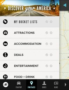Road Trippers #mobile #site #ui #trip