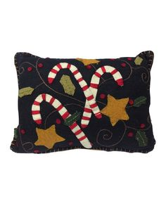 Another great find on #zulily! Candy Cane Throw Pillow #zulilyfinds