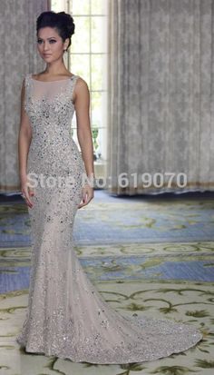 mermaid prom dresses,backless prom dresses,special occasion dresses,long prom gown,crystal prom dresses