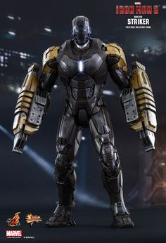 Hot Toys : Iron Man 3 - Striker (Mark XXV) 1/6th scale Collectible Figure