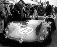 Lucien Bianchi, Le Mans test, March 30, 1969: He was killed when his Alfa Romeo T33 spun into a telegraph pole.