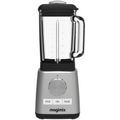 Magimix Le Blender ($205) ❤ liked on Polyvore featuring home, kitchen & dining, small appliances, spice mill, glass toaster, spice blender, glass blender and baby food blender