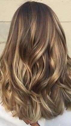 Brown Hair Balayage, Brown Blonde Hair, Balayage Brunette, Blonde Highlights On Brown Hair, Honey Balayage, Golden Brown Hair Color, Brown Hair With Caramel Highlights, Brown With Blonde Highlights, Honey Brown Hair